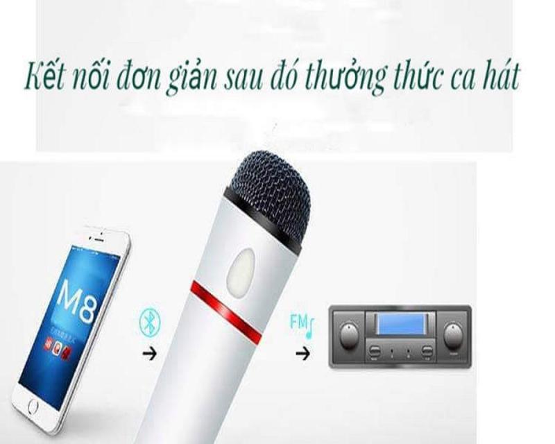 Micro karaoke trên xe hơi