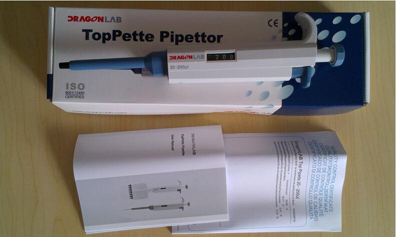 Micropipette không hấp 1 kênh 10 - 100uL nhập khẩu