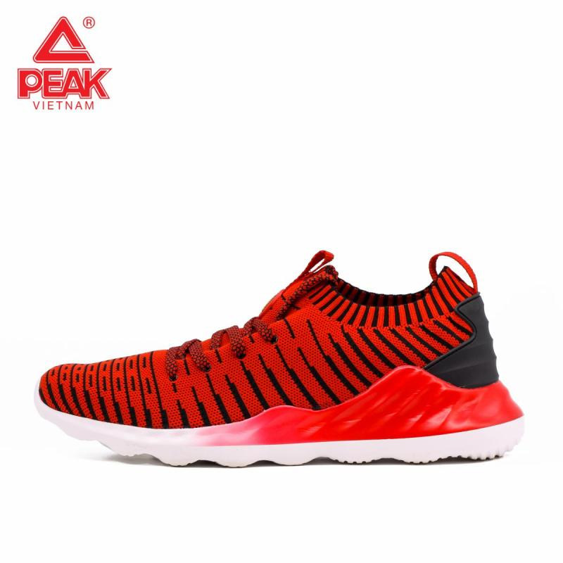 Giày thời trang thể thao Peak Sportwear E81621E – Đỏ Đen