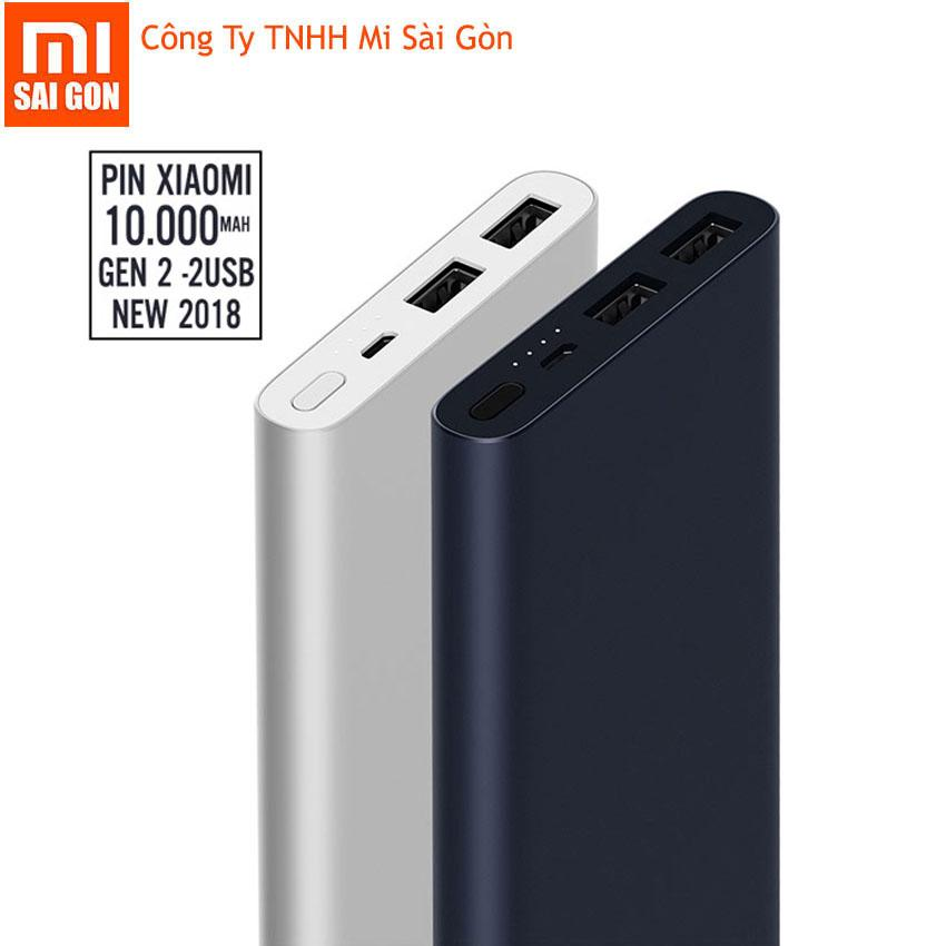 Mua Pin Sạc Dự Phong Xiaomi 10000 Mah Gen 2S 2018 Bạc Digiworld Phan Phối Chinh Thức Trực Tuyến