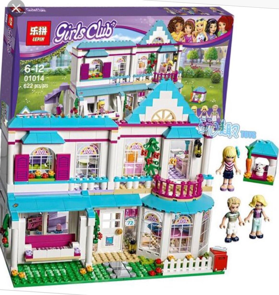 Bộ lego friends 01014 nhà biệt thự của Stephanie