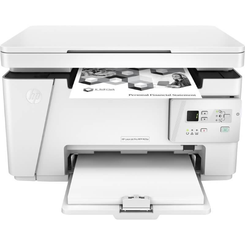Máy in HP LaserJet Pro MFP M26a, đa chức năng (Print, copy, scan) Giấy A4 , Tốc độ in 18 trang / phút  , Bộ nhớ 2Mb, Độ phân giải 600 x 600 dpi , Kết nối USB, mực CF279A HP 79A Black Original LaserJet Tone(~1000 pages)