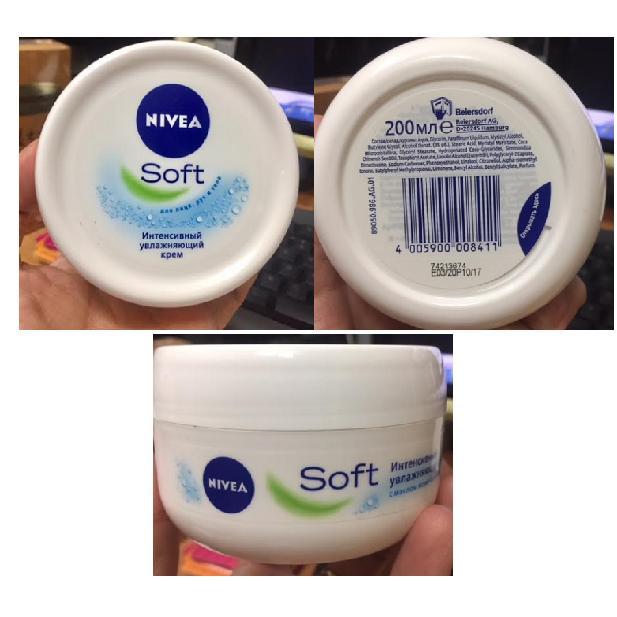 Giá Bán Kem Dưỡng Ẩm Nivea Soft 200Ml Hộp Lớn Nivea Mới