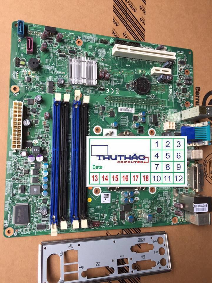 Hình ảnh MAIN B75 H61 4 KHE RAM HỖ TRỢ VGA