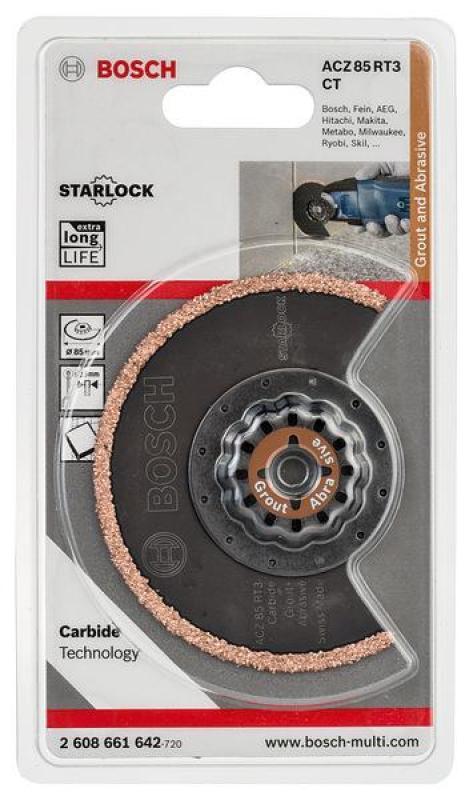 Lưỡi cắt rãnh ACZ 85 RT 85mm, 2608661642, Bosch