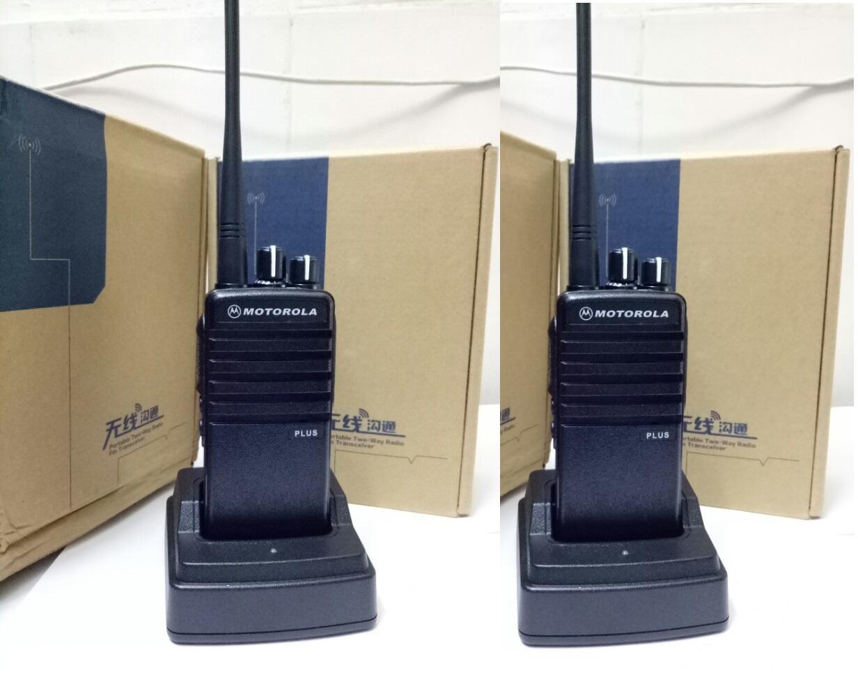 Khuyến Mãi Sốc 02 Bộ Đàm Motorola CP1100Plus Chuyên Dùng Tòa Nhà Cao Tầng