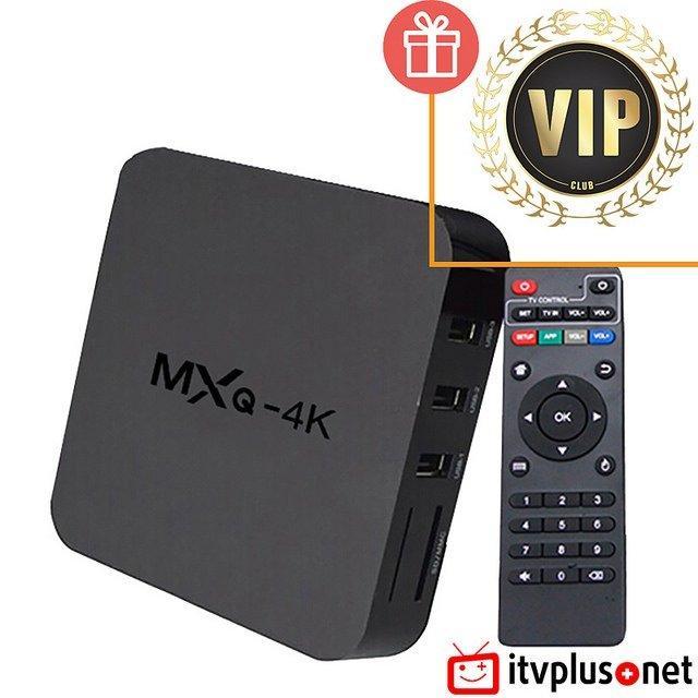 Android box biến tivi 4K thường thành smart tivi - MXQ 4K + chuột không dây