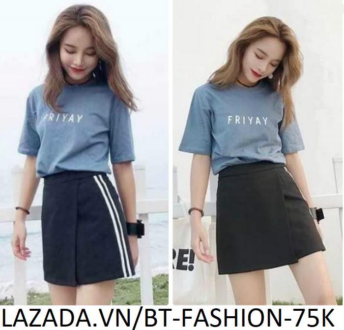 Quần Giả Váy Thời Trang Hàn Quốc Mới - BT Fashion (VA00)