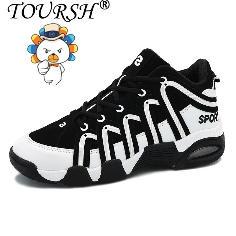 TOURSH Women Basketball Shoes High-top Lovers Shoes (black) Free Shipping  788527df526d