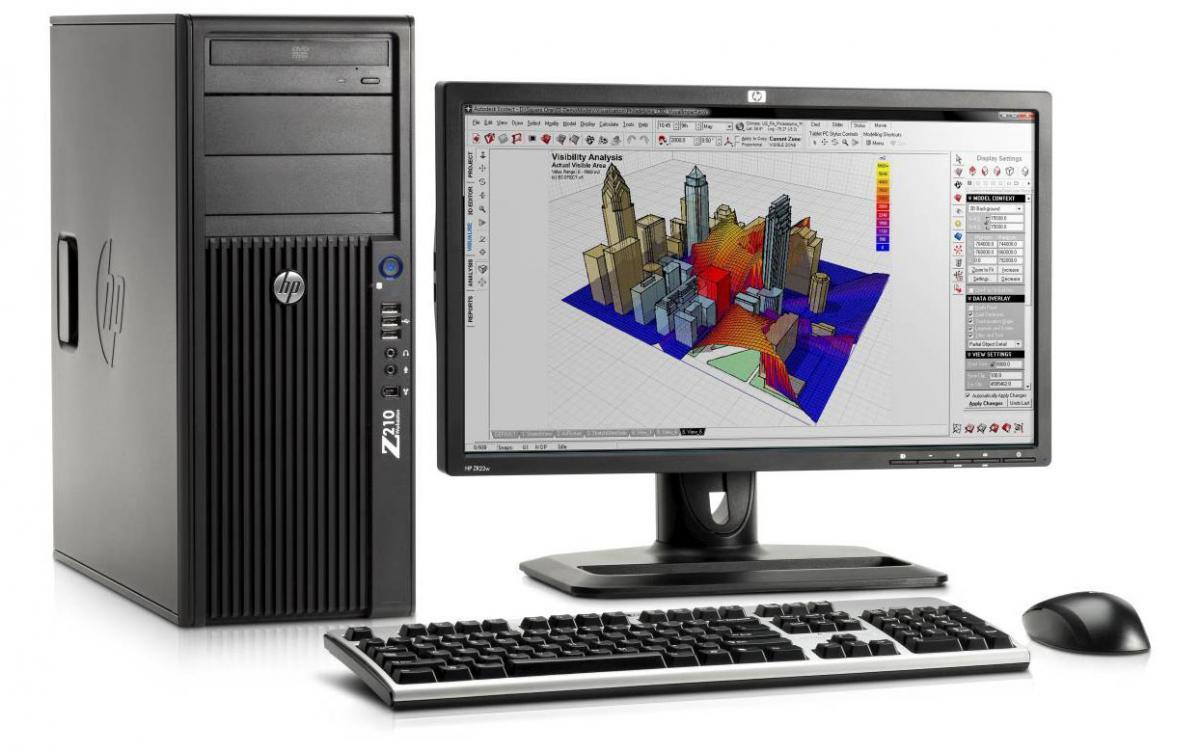 Máy tính để bàn HP Z210 SFF