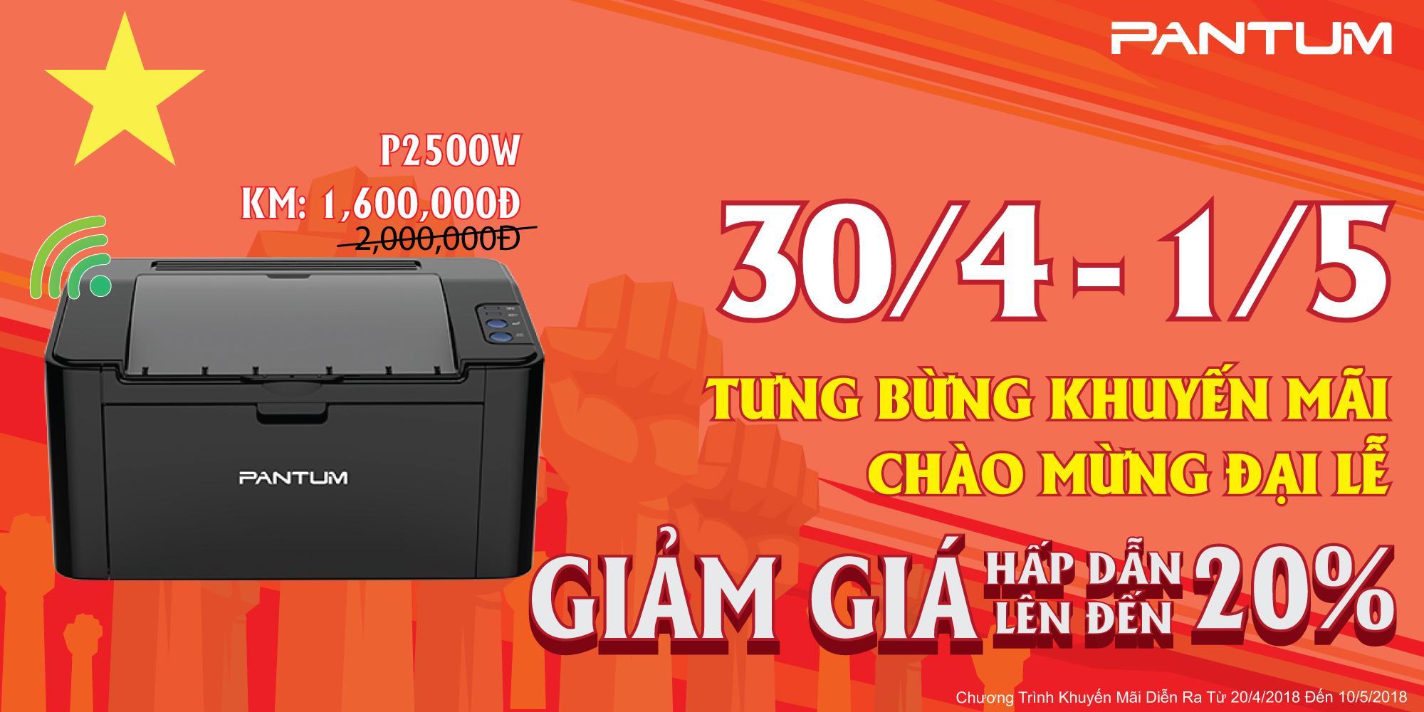 Bán Mua May In Laser Đơn Sắc Pantum P2500W Mới Hồ Chí Minh