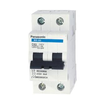 Cầu  bảo vệ quá tải & ngắn mạch MCB 02 P 06A-63A-BBD2502CNV (50A)