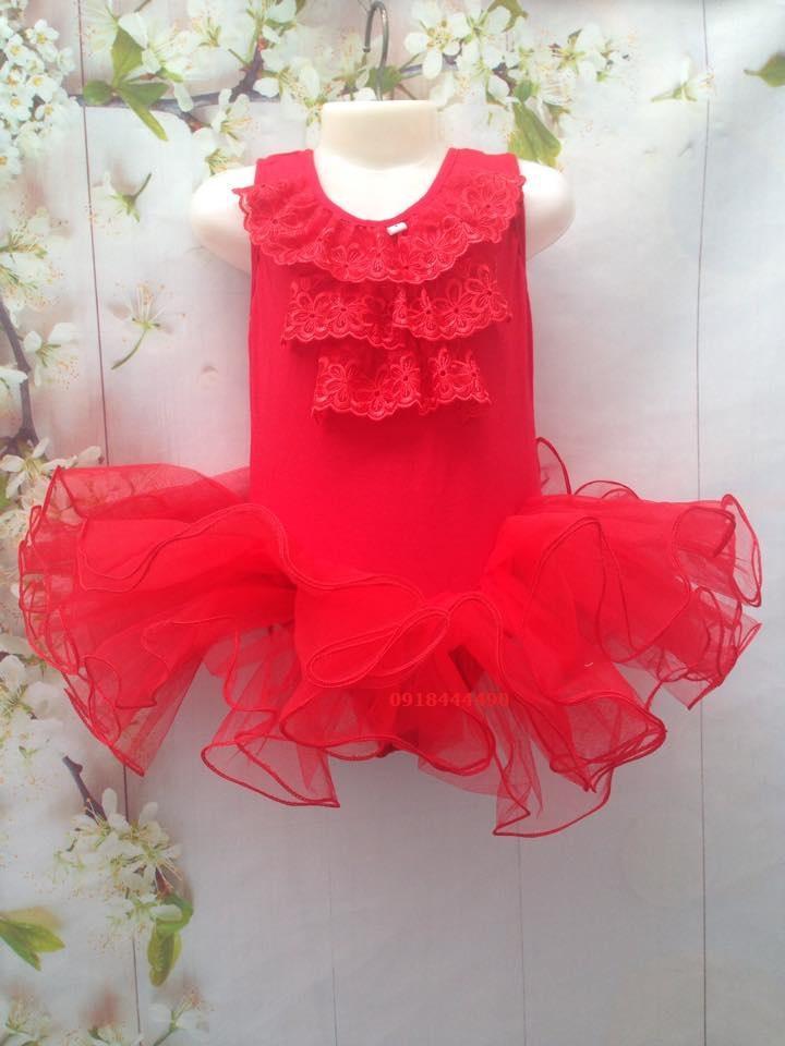 Váy tập múa Ba lê (Ballet) cho bé gái 2-10 tuổi