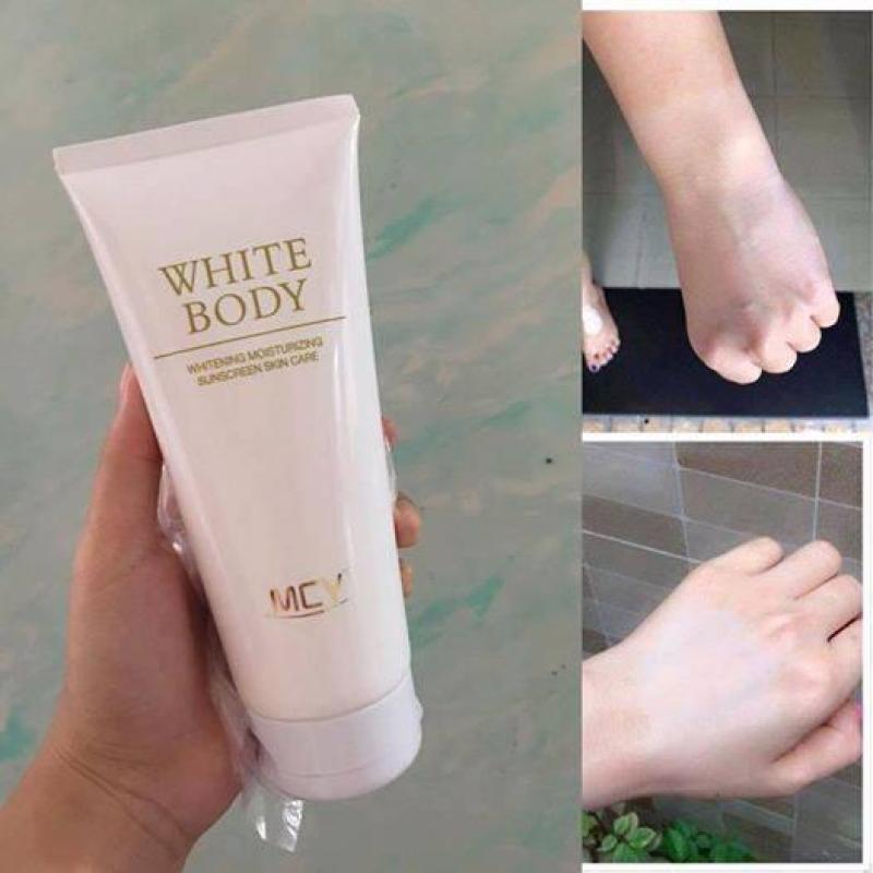 Kem dưỡng trắng White body MCY 200ml trắng