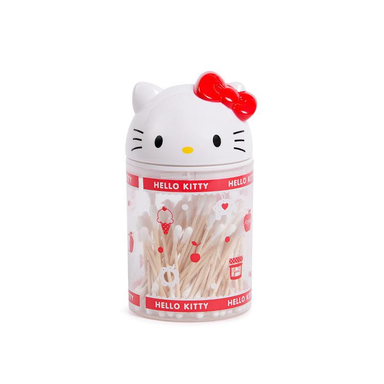 368be0a5e Household Desktop Cute Doll Modeling Melody Large Size Swab Box Storage  Tank Cartoon Toothpick Tin Toothpick