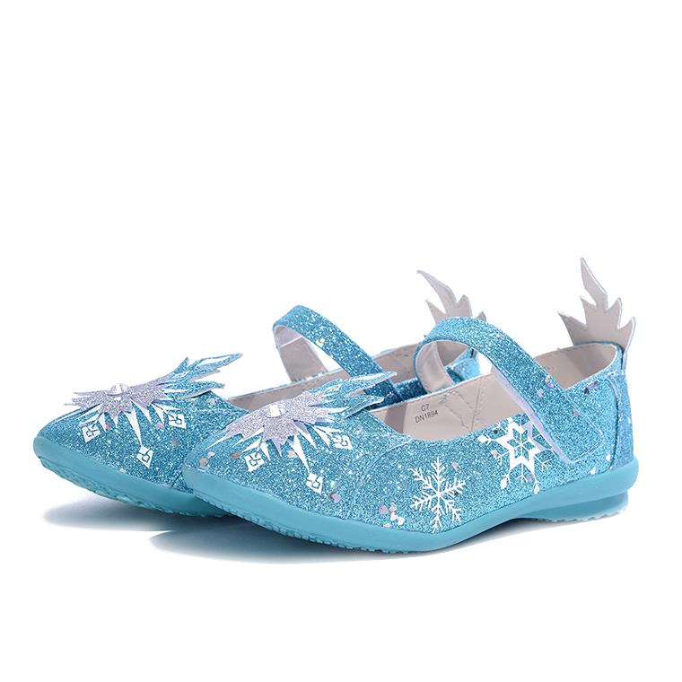 Giay Búp Be Bé Gái Bitis Frozen Nữ Hoàng Băng Giá Dbb005211Xdg Xanh Dương Biti S Chiết Khấu 40