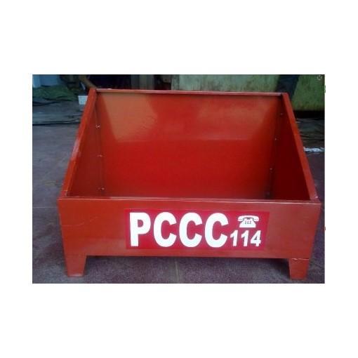 Hình ảnh Kệ đôi đựng bình chữa cháy PCCC02
