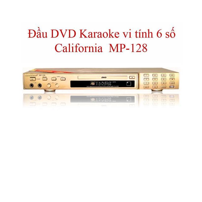 Hình ảnh ĐẦU DVD CALIFORNIA MP-128 , (Có Kèm Đĩa Sách List nhạc 6 số)