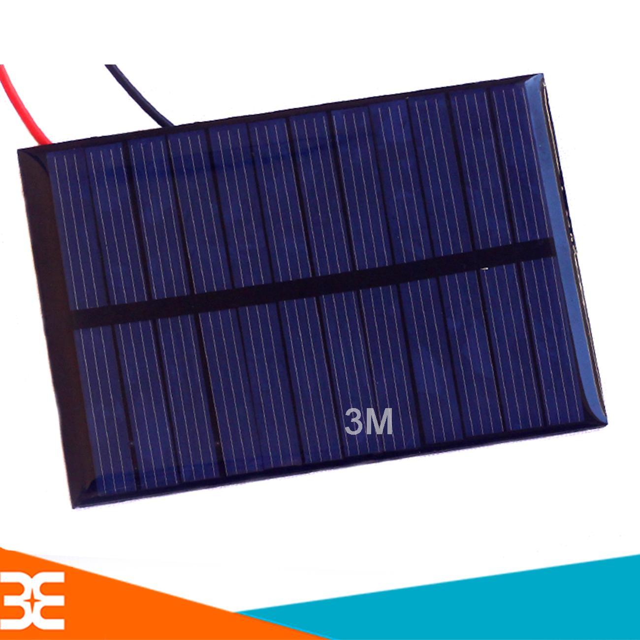 Hình ảnh Pin Năng Lượng Mặt Trời 6V 0.6W 100mA 80x55mm