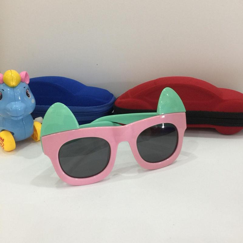 Giá bán [CẢNH BÁO SẮP HẾT] Kính thỏ hồng xinh xắn cho bé gái, chống tia UV, đang sale cực mạnh G155-43 + Tặng hộp đựng cao cấp