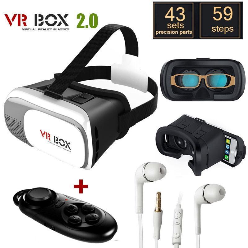 Hình ảnh Kính thực tế ảo VR BOX 2 và Tay cầm chơi game tặng tai nghe S4