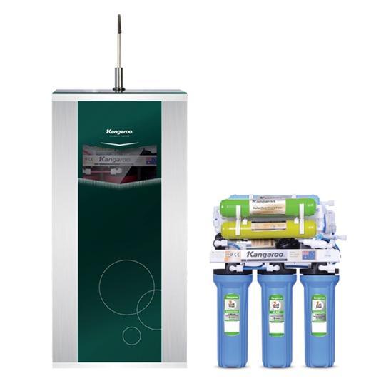 Máy lọc nước Kangaroo 8 lõi lọc KG108 - không vỏ tủ