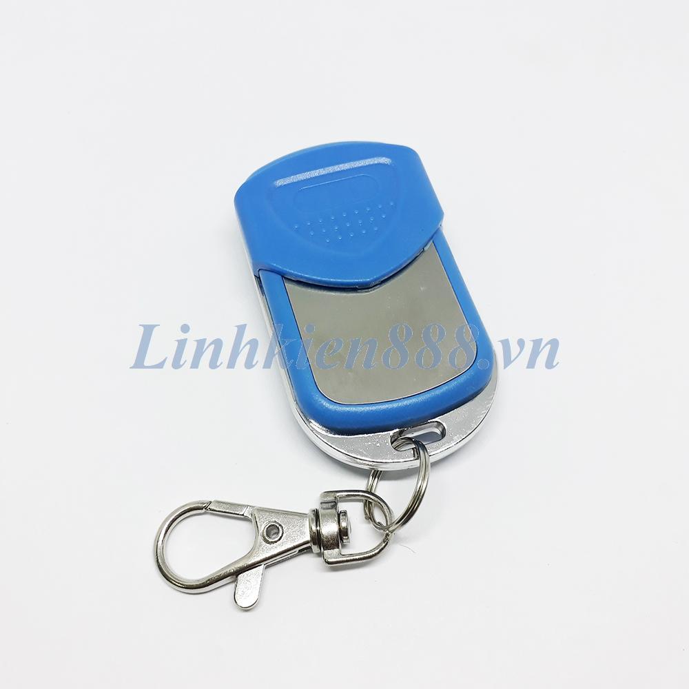 Hình ảnh Điều khiển cửa cuốn loại chống nước, tự học lệnh, màu xanh, tần số 433Mhz