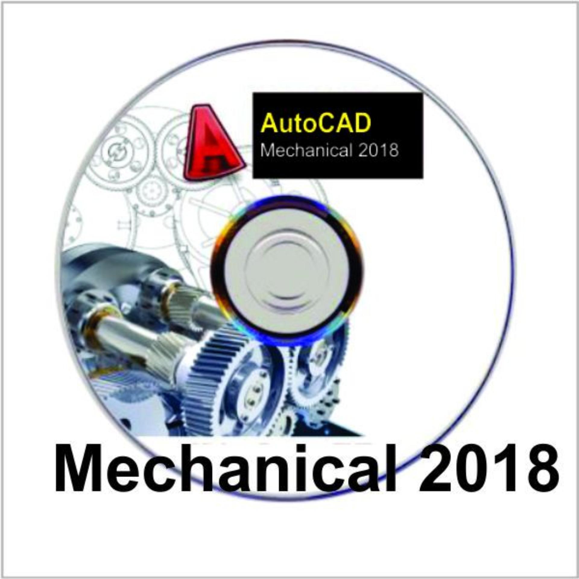 Hình ảnh Bộ DVD Autocad Mechanical 2018