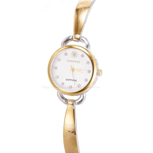 Đồng hồ nữ lắc tay Sunrise SL611SWA Fullbox kính Sapphire chống xước
