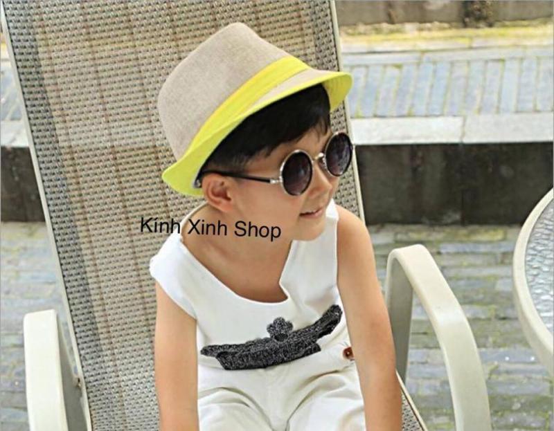 Mua Kính râm Mắt tròn thầy bói trẻ em cao cấp - Hàng KOCOTREE Hàn Quốc