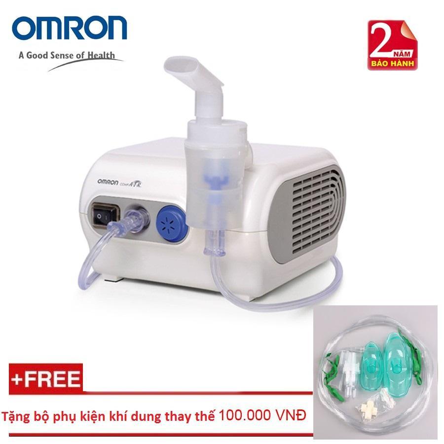 Hình ảnh Máy xông khí dung OMRON C28 + Tặng bộ phụ kiện xông khí dung thay thế
