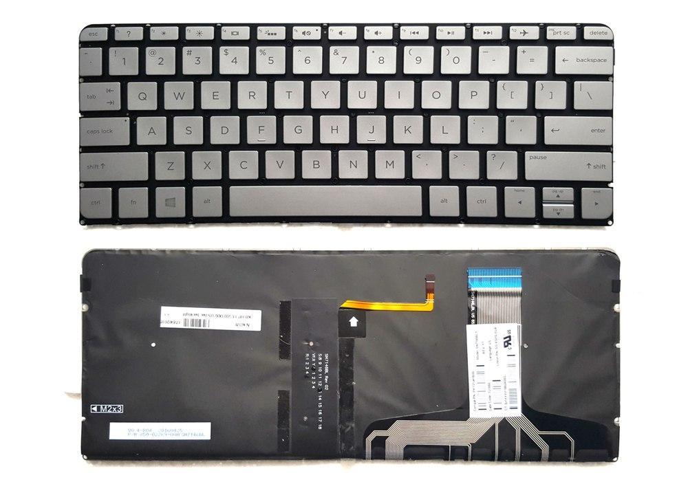 Bàn phím Laptop HP 13-V001XX US Bạc