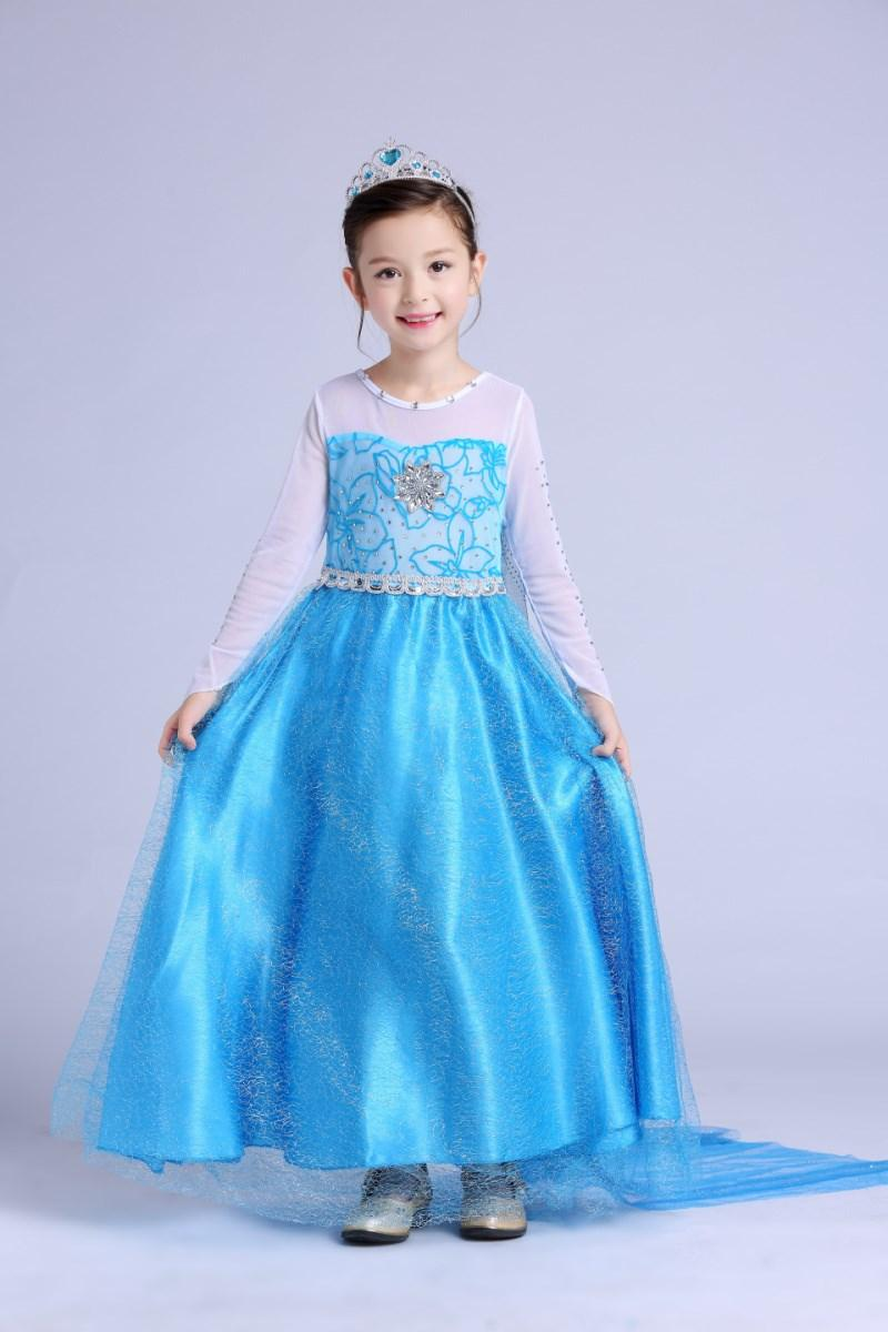 Mua Đầm Cong Chua Elsa Be Gai Trực Tuyến