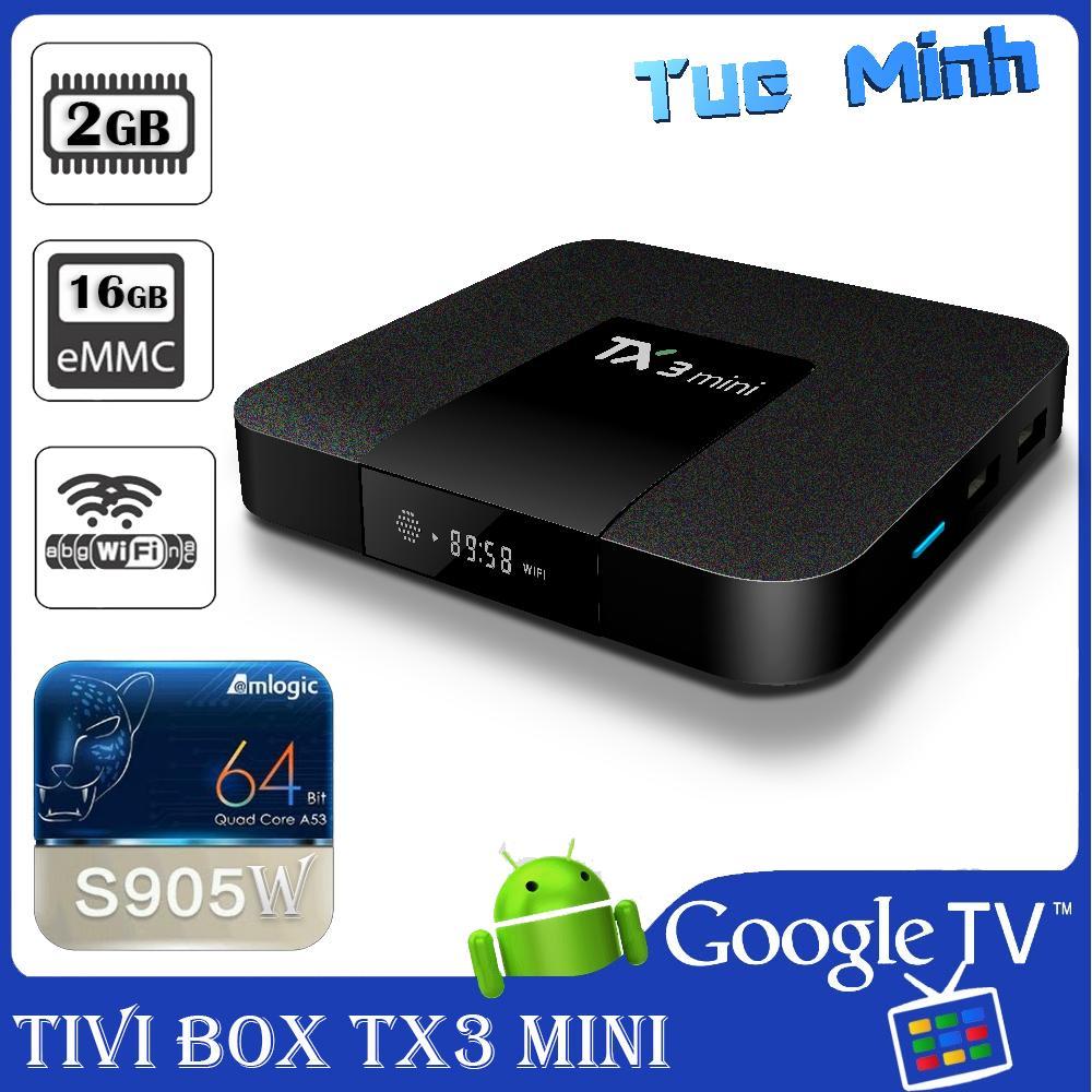 Chiết Khấu Android Tv Box Tx3 Mini Phien Bản 2G Ram Va 16G Bộ Nhớ Trong