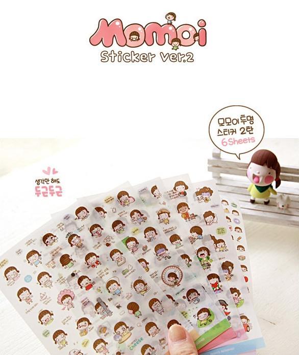 Mua Sticker Momoi set 6 tấm