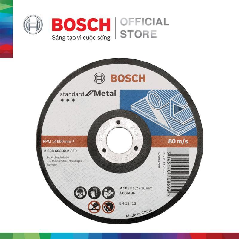 Đá cắt Bosch 105x1.2x16mm (sắt)