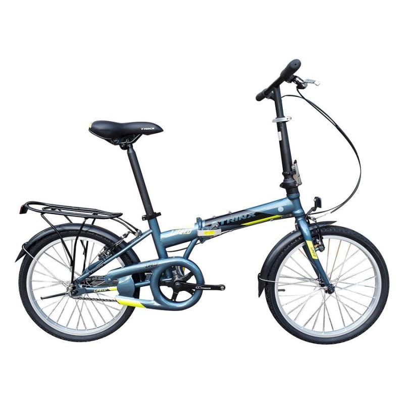 Phân phối Xe đạp gấp Trinx LIFE 1.0 2018 Grey/Black Yellow