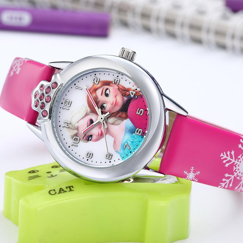 Nơi bán Đồng hồ trẻ em elsa W16-H màu hồng giá tốt