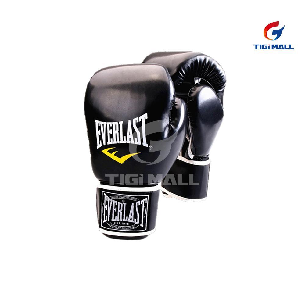Hình ảnh Găng tay chuyên dụng tập Boxing Everlast cho người 18-50 tuổi - màu đen