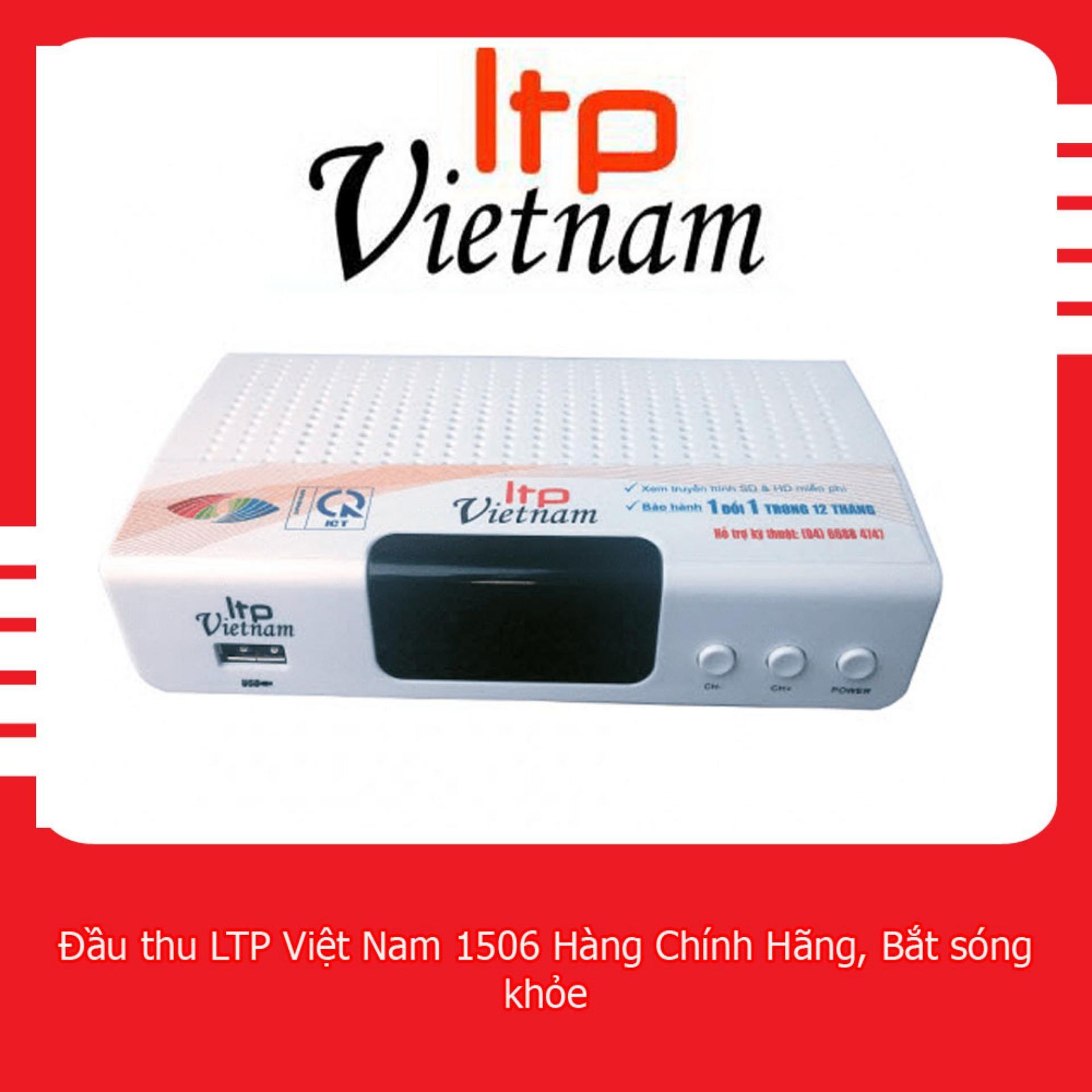 Chiết Khấu Đầu Thu Kỹ Thuật Số Dvb T2 Stb 1506 Ltp Việt Nam