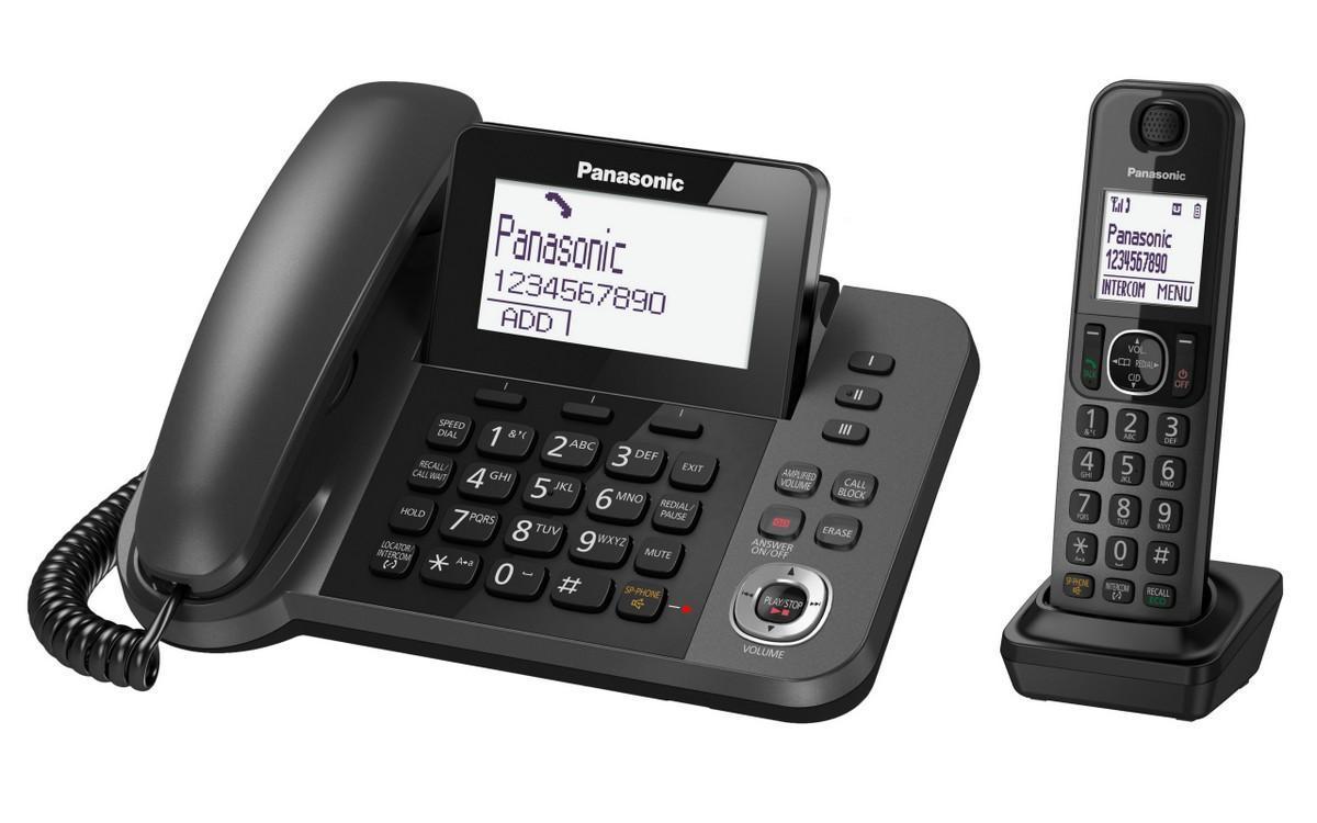 Hình ảnh Điện thoại bàn Panasonic KX-TGF320 (Đen)