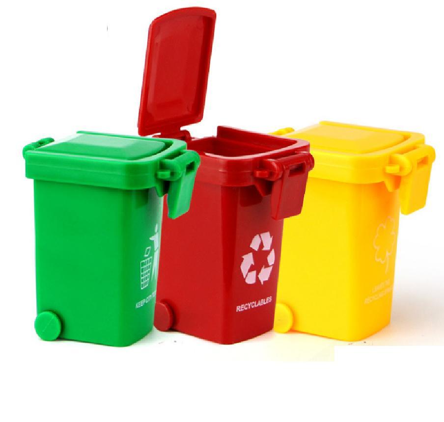 Hình ảnh Đồ chơi 3 thùng rác mini cho trẻ em