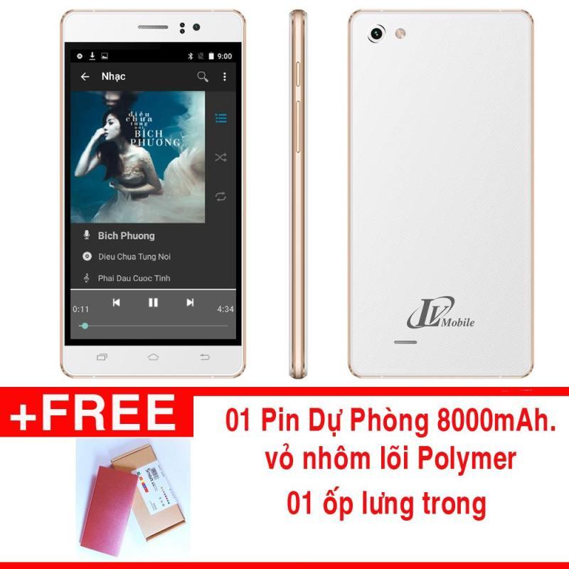 Điện thoại LV318 - 4GB 2 SIM  - Tặng ốp lưng, pin dự phòng 8000mAh