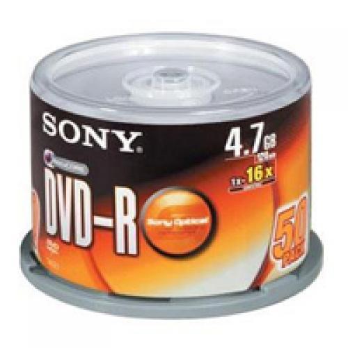 Hình ảnh Bộ 50 đĩa trắng DVD SONNY 4.7G gấp 7 lần dung lượng đĩa trắng CD