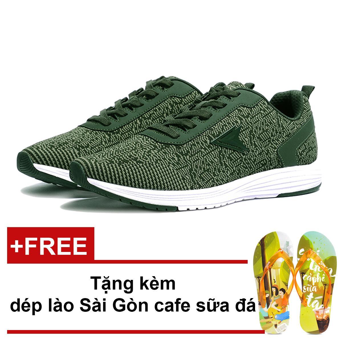 Giay Thế Thao Nam Bitis Hunter Dark Tribal Green Dsm068833Reu Tặng Dep Lao Sai Gon Cafe Sữa Đa Biti S Chiết Khấu 40