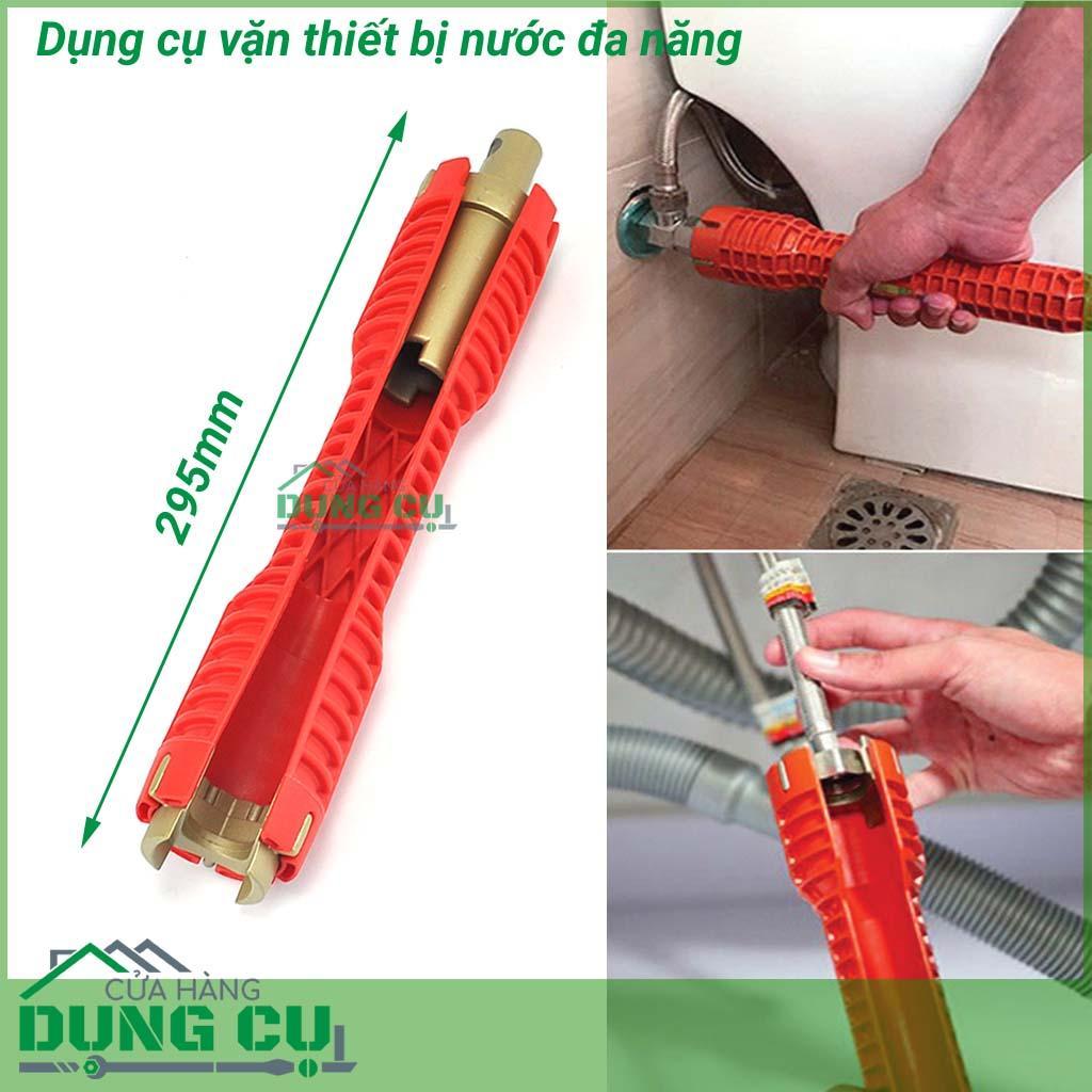 Dụng cụ vặn thiết bị nước đa năng