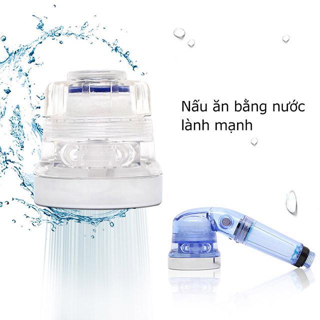 Hình ảnh SF-1000 Vòi rửa chén ( tăng áp +lọc nước) + 8 Thanh lọc nước