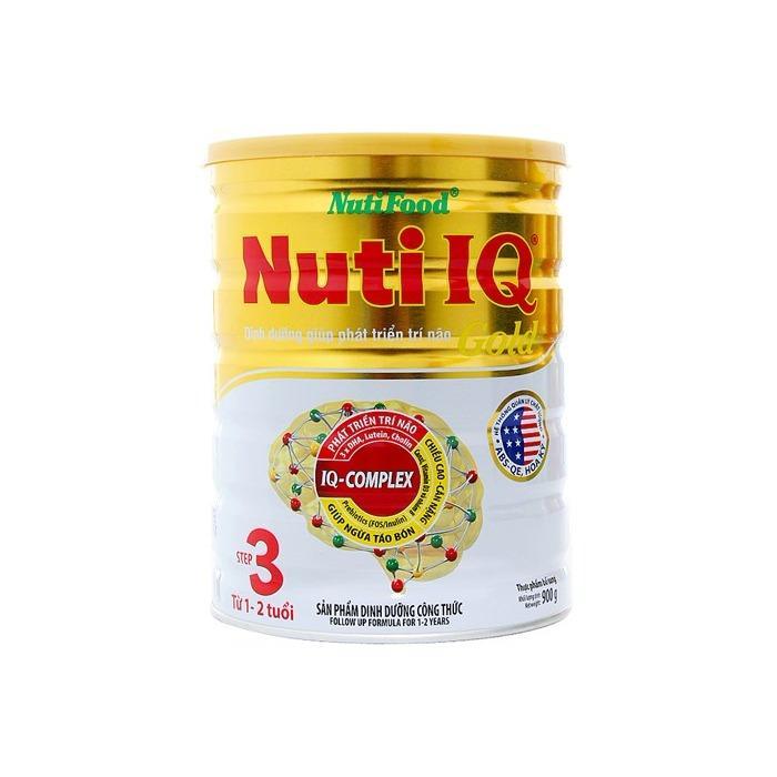 Mã Khuyến Mại Sữa Nuti Iq Gold Step 3 900G Danh Cho Trẻ Từ 1 2 Tuổi Hà Nội