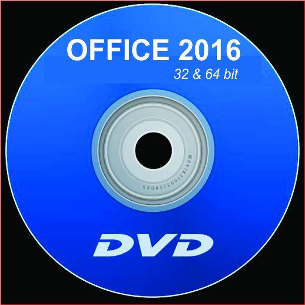 Hình ảnh Bộ DVD MS OFFICE 2016 FULL