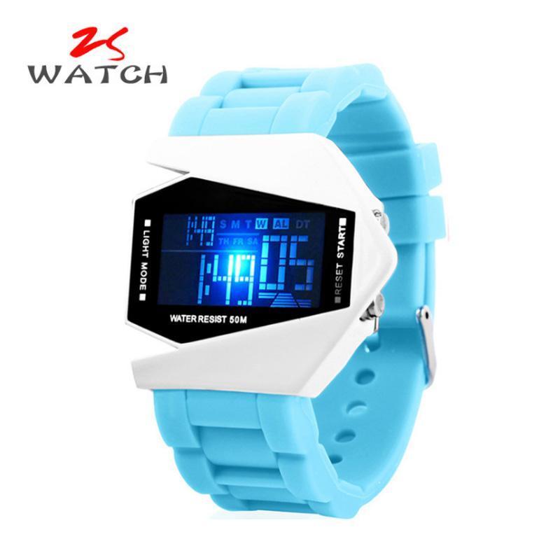 Nơi bán Đồng hồ trẻ em dây silicon chống nước cao cấp (màu xanh dương)